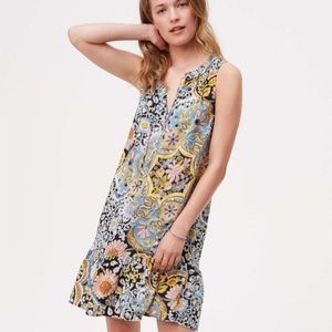 Ann Taylor 100% Floral Rayon Bathing Suit Cover up
